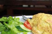 Omelet — Стоковое фото