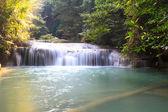 Erawan waterval — Stockfoto