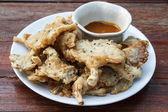 Cogumelos fritos — Foto Stock