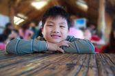 Chlapec s úsměvem — Stock fotografie