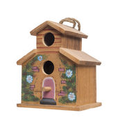 Birdhouse, isolated on white — Stock Photo