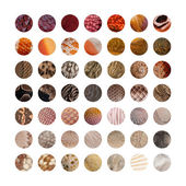 Collection of Animal skins — Stock Photo
