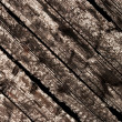 Burnt wood planks — Stock Photo