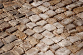 Rough texture of roadway pavement — Stock Photo