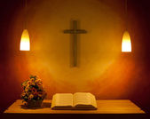 The Church Altar — Stock Photo