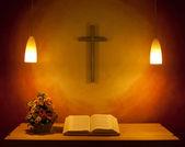 The Church Altar — Stock Photo