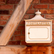 Mail box on the wall (Germany) — Stock Photo