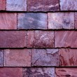 Stone tile wall from slate - Stock Photo