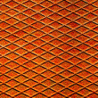 Rusty metal surface with reticulated texture and pattern - Stock Photo