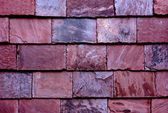 Stone tile wall from slate — Stock Photo