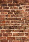 Parede de pedra-tijolo à luz do sol — Foto Stock