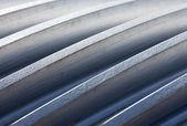 The Thread of cogwheel close up — Stock Photo