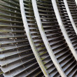 Stock Photo: Fragment of steam turbine