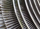 Fragment of a steam turbine — Stock Photo