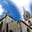Aachen Cathedral against the sky in Germany — Stock Photo #28803151