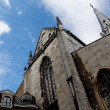Aachen Cathedral against a blue sky — Stock Photo