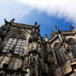 Stock Photo: Aachen Cathedral against a sky in Germany