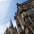 Aachen Cathedral against the sky — Stock Photo