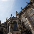 Aachen Cathedral against the blue sky — Stock Photo