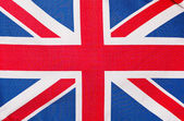 The flag of England, close-up — Stock Photo