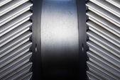 Thread of cogwheel close up — Stock Photo