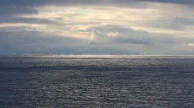 海和多云的天空 — 图库视频影像