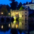 old castle of town bad pyrmont in germany — Stock Photo