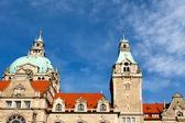 City Hall in Hanover city — Stock Photo