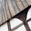 The wall of half timbered house — Stock Photo
