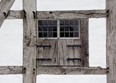 The window shutters of farmhouse — Photo
