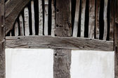 Old wall of a farmhouse — Stock Photo