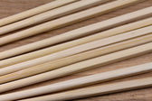 Chopsticks on a wooden surface — Stock Photo