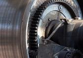 Detail of an old electric motor — ストック写真