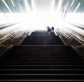 Stairs in the metro of Hamburg — Stock Photo