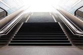 Stairs in metro of city Hamburg — Stock Photo