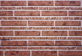 Bricks decoration — Stok fotoğraf