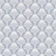 Stock Vector: Seamless royal wallpaper in silver
