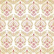 Traditional seamless wallpaper in gold — Stock Vector #14322491