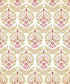 Tradiční bezešvými tapetu ve zlatě — Stock vektor