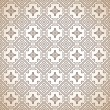 Brown seamless paisley wallpaper — Stock Vector #17871881