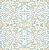 シームレスな伝統的なタイルや壁紙 — ストックベクタ