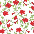Seamless floral background for fabrics — Vektorgrafik