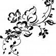 Vintage floral design - Stock Vector