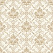 Seamless royal golden wallpaper — Stockvektor