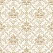 Seamless royal golden wallpaper — Stock Vector