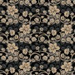 Seamless Floral-Background - Imagen vectorial