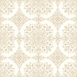 Traditional seamless golden wallpaper - Stock Vector