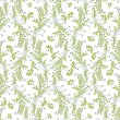 Seamless background for textile fabrics — Stock Vector