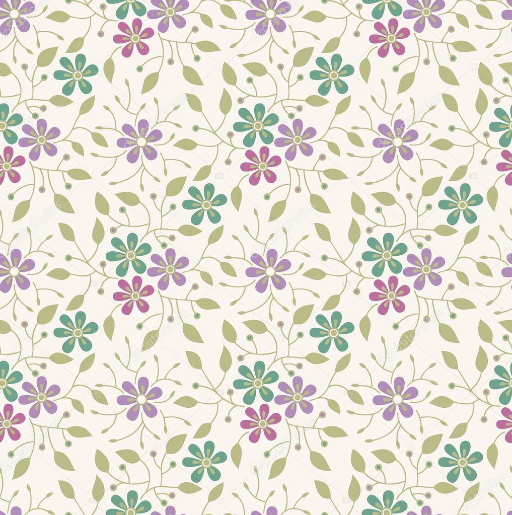 seamless floral background - photo #8