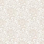 Floral seamless royal wallpaper — Stock Vector